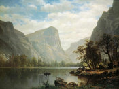 Albert Bierstadt - Mirror Lake, Yosemite Valley