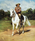 Rosa Bonheur - Col. William F. Cody (Buffalo Bill)