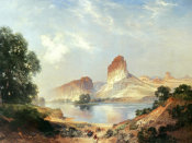 Thomas Moran - An Indian Paradise