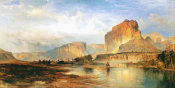 Thomas Moran - Cliffs of the Green River