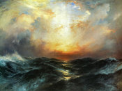 Thomas Moran - Seascape