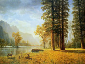 Albert Bierstadt - Hetch Hetchy Valley, California