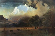 Albert Bierstadt - Mount Adams, Washington