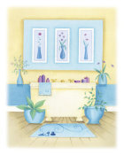 Alexandra Burnett - Cream Bathroom I