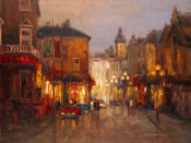 Yuri Borsuk - Parisian Night Scene