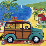 Suzanne Etienne - Woody at the Beach