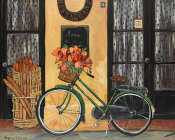 Suzanne Etienne - Bicycle with Flowers