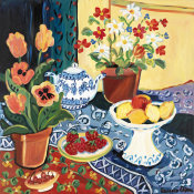 Suzanne Etienne - Lemons and Flowers