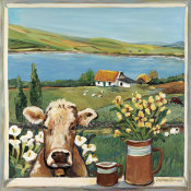 Suzanne Etienne - Cow in Window
