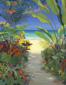Shari Erickson - Tropical Beach Path