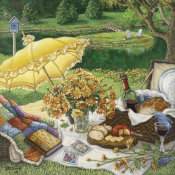 Janet Kruskamp - A Lazy Daisy Afternoon