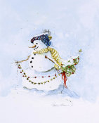 Peggy Abrams - Snowman Two
