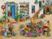 Janet Kruskamp - Courtyard Flower Shoppe