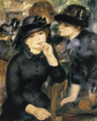Pierre-Auguste Renoir - Girls In Black