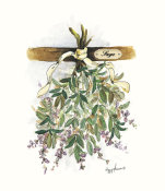 Peggy Abrams - Drying Herbs, Sage