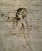 Guercino - Sketch of a Child