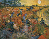Vincent Van Gogh - The Red Vineyard at Arles, 1888