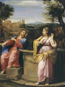 Francesco Albani - Christ and The Woman of Samaria at The Well