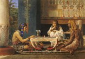 Sir Lawrence Alma-Tadema - Egyptian Chessplayers