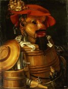 Giuseppe Arcimboldo - The Waiter: Winemaking