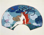 Georges Barbier - Eve