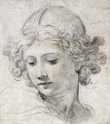 Pietro Berrettini - The Head of An Angel