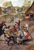 Pieter Bruegel the Elder - The Servants Breakfast After The Wedding