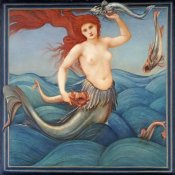 Sir Edward Burne-Jones - A Sea-Nymph