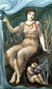 Sir Edward Burne-Jones - Earth Mother