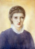 Sir Edward Burne-Jones - Portrait of Frances Graham