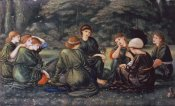 Sir Edward Burne-Jones - Green Summer
