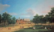 Giovanni Antonio Canal - London: The Old Horse Guards and The Banqueting Hall