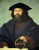 Giovanni Cariani - Portrait of An Astronomer