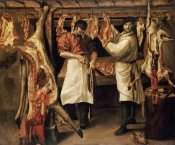 Annibale Carracci - The Butcher's Shop