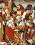 Castillian School - The Adoration of The Magi