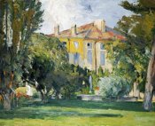 Paul Cezanne - The House at Jas De Bouffan