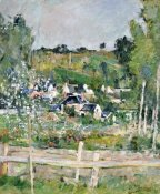 Paul Cezanne - A View of Auvers-Sur-Oise; The Fence