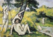 Paul Cezanne - Bathing