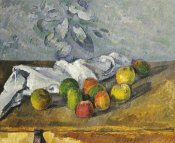 Paul Cezanne - Apples and a Napkin