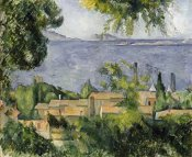 Paul Cezanne - The Rooftops of L'Estaque