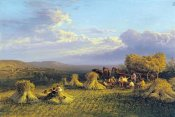 George Cole - Harvest Scene