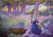 Henri Edmond Cross - The Washer-Woman