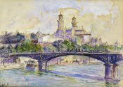 Henri Edmond Cross - The Seine In front of The Trocadero
