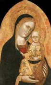 Giovanni Di Nicola Da Pisa - The Madonna and Child
