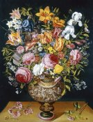 Andries Danieels - Roses, Tulips, Narcissi, Irises and Other Flowers