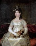 Francisco De Goya - Portrait of Dona Francisca Vicenta Chollet Y Caballero