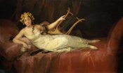 Francisco De Goya - Portrait of The 10th Marquesa De Santa Cruz As The Muse Euterpe