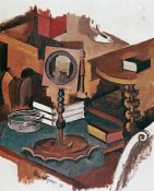 Roger De La Fresnaye - Corner of a Table; Study For ' Married Life '