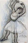 Edgar Degas - Study of a Dancer