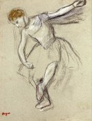 Edgar Degas - A Dancer Seen In Profile